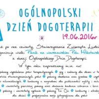 Dzień Dogoterapii - Pola Mokotowskie - 19 czerwca 2016